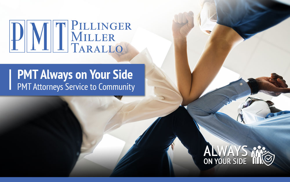 PMT Always on Your Side - Service to to Community