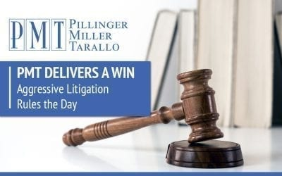 PMT Delivers a Win – Aggressive Litigation Rules the Day