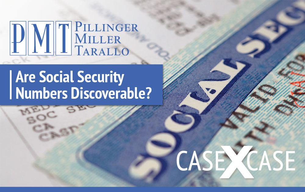 Are Social Security Numbers Discoverable