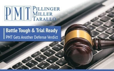 Battle Tough and Trial Ready: PMT Gets Another Defense Verdict