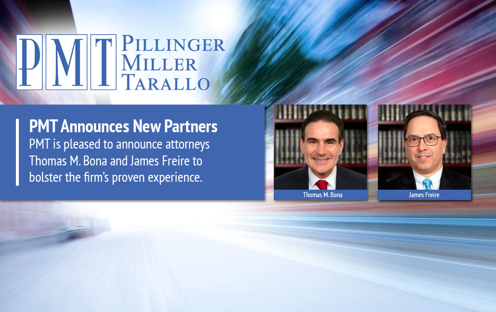 PMT Announces New Partners Thomas M. Bona and James Freire