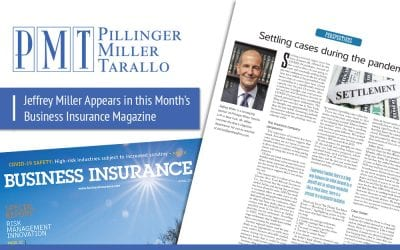 Jeffrey Miller Appears in this Month's Business Insurance Magazine