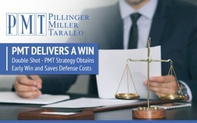 PMT Delivers a Win: Double Shot – PMT Strategy Obtains Early Win and Saves Defense Costs