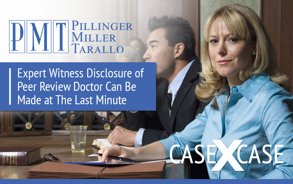 Expert Witness Disclosure
