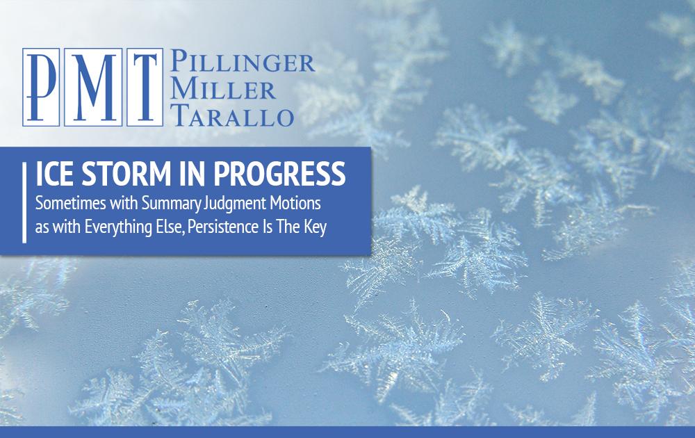 Ice Storm in Progress