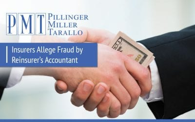 Insurers Allege Fraud by Reinsurer's Accountant
