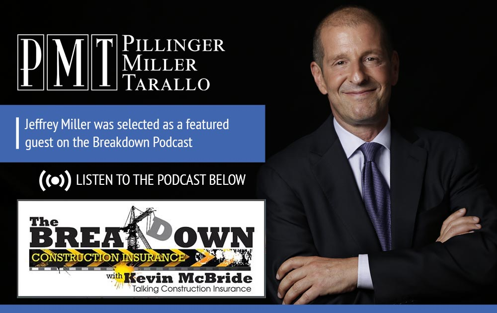 Jeffrey Miller was selected as a featured guest on the Breakdown
