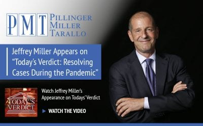 "Jeffrey Miller appears on ""Today's Verdict: Resolving Cases During the Pandemic"""
