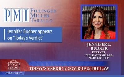 "Jennifer Budner appears on ""Today's Verdict"""