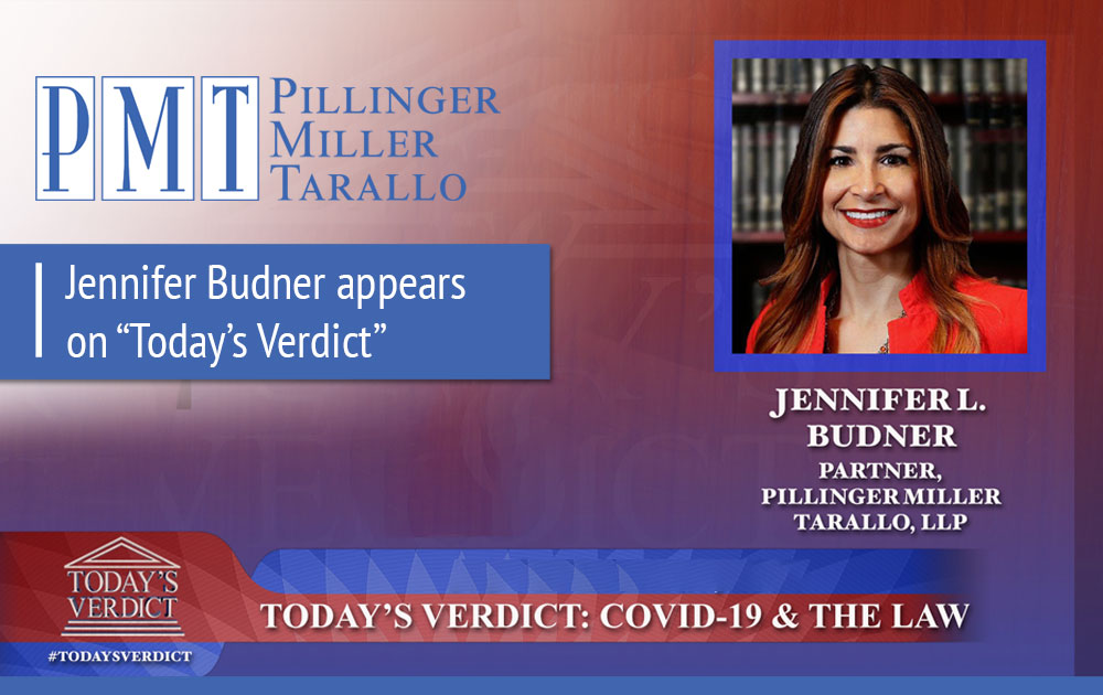Jennifer Budner appears on Todays Verdict