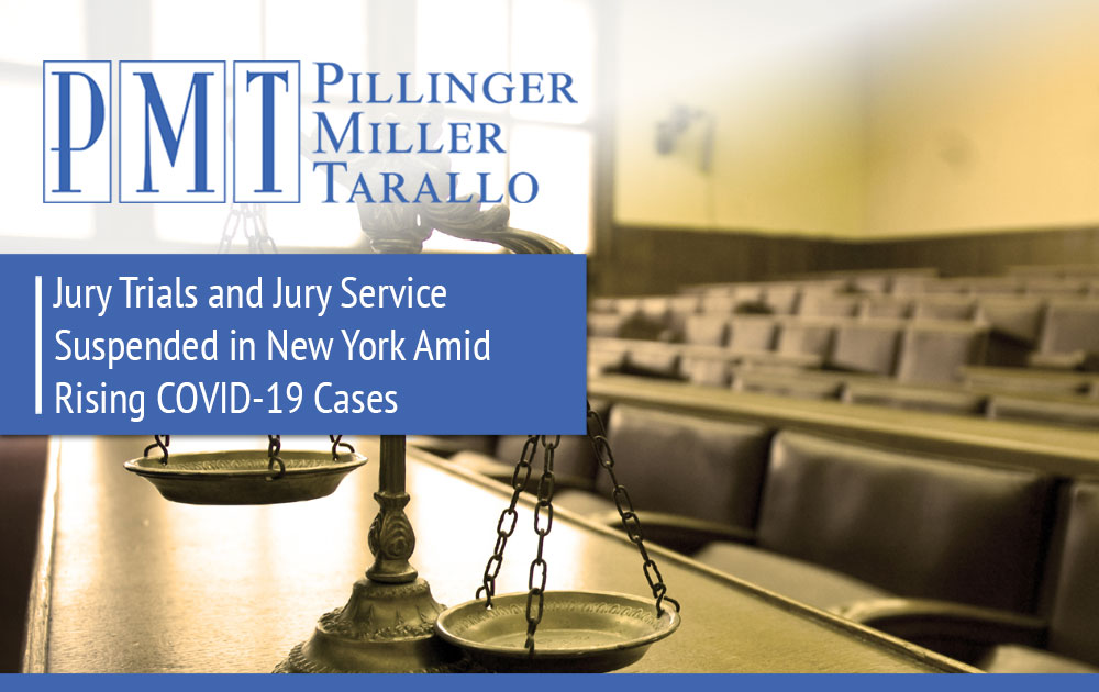 Jury Trials and Jury Service Suspended in New York - COVID-19