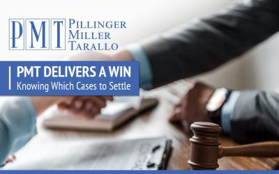 PMT Delivers a Win – Knowing How to Settle Cases