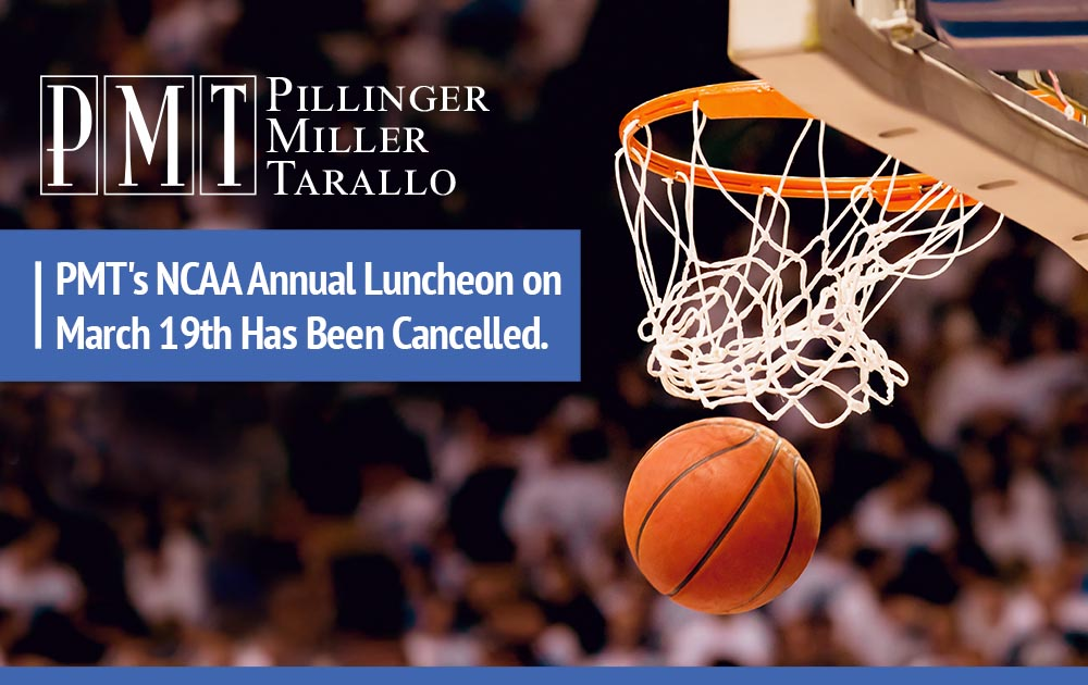 CANCELLED: PMT NCAA Luncheon on March 19th