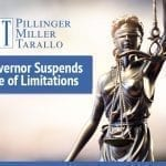 New York State Governor Suspends Statute of Limitations