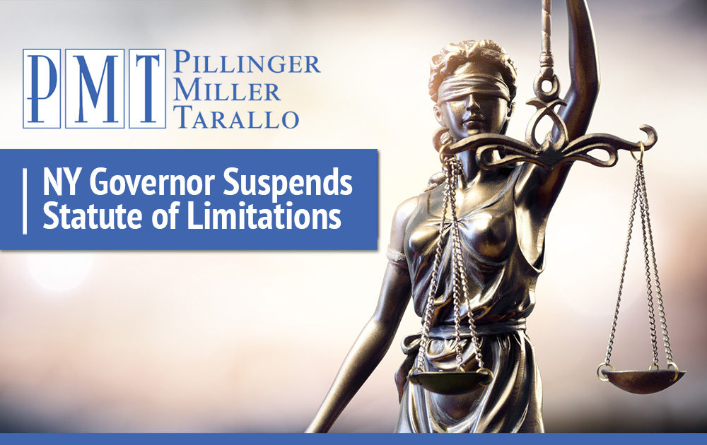 NY Governor Suspends Statute of Limitations