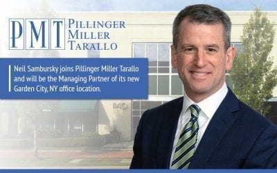 Neil Sambursky joins PMT and will be the Managing Partner of its new Garden City, NY office