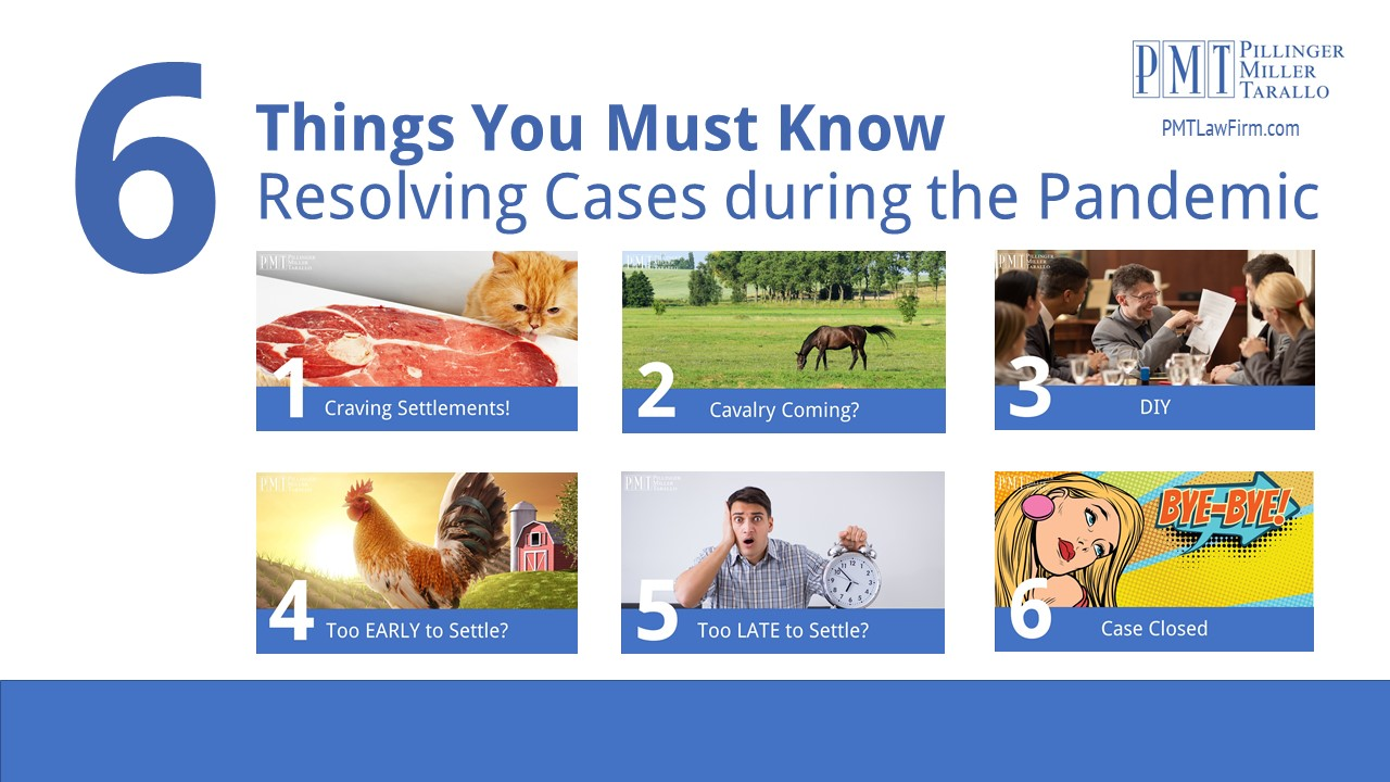 PMT 6 Things to Know - Resolving Cases During a Pandemic