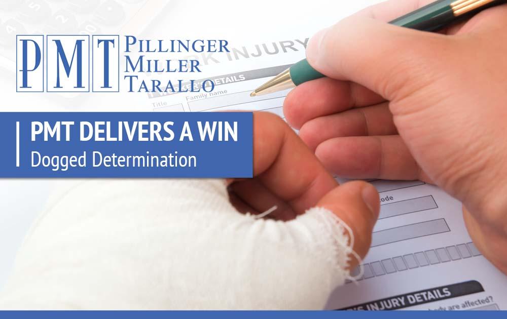 PMT Deliver a Win - Dodged Determination