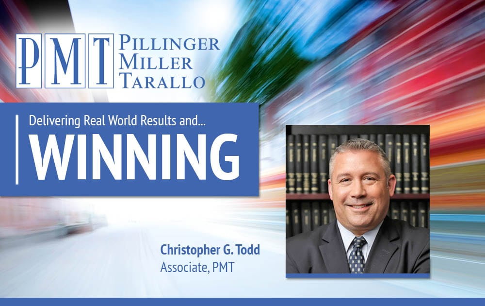 Christopher G. Todd Delivers a Win!
