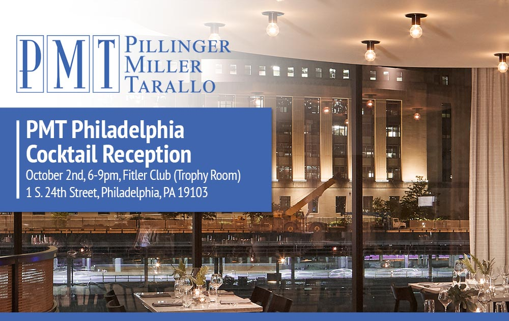 PMT Philadelphia Cocktail Reception