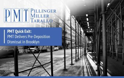 PMT Quick Exit: PMT Delivers Pre-Deposition Dismissal in Brooklyn