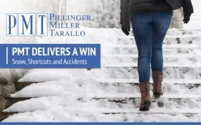 PMT Delivers a Win – Snow, Shortcuts and Accidents