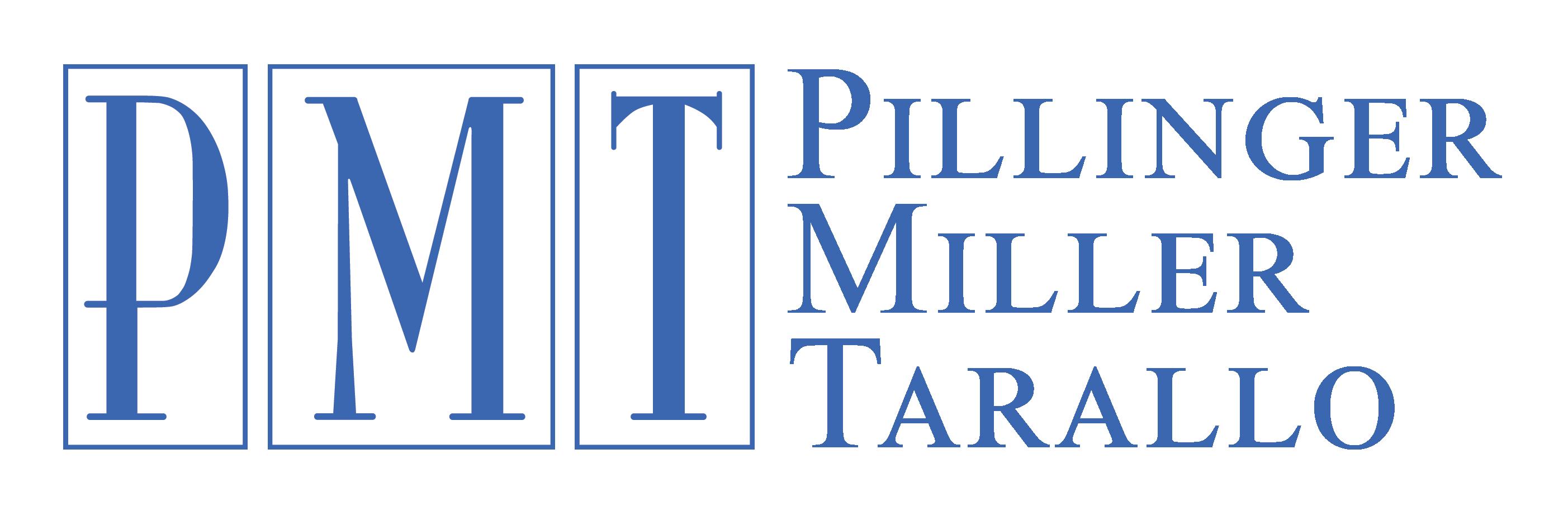 PMT Pillinger Miller Tarallo Logo