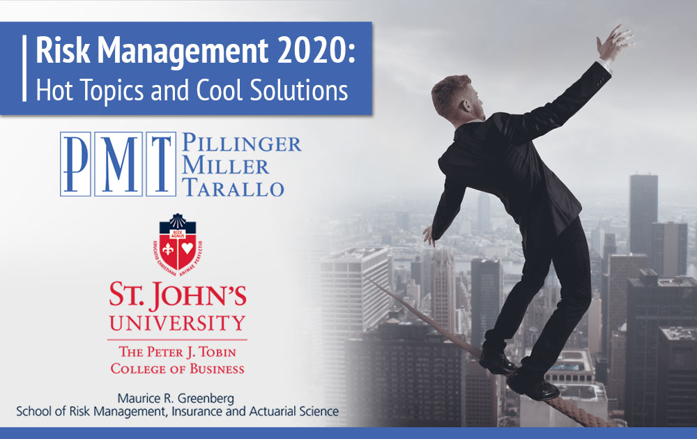Risk Management 2020 - Hot Topics Cool Solutions Banner
