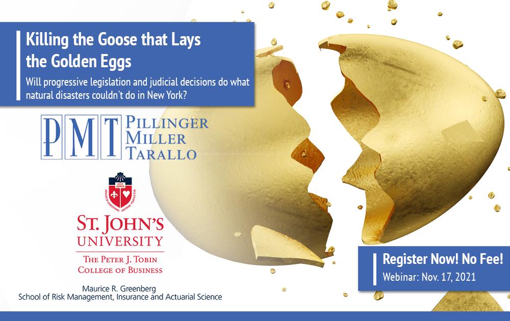 Pillinger Miller Tarallo and St. John's University Webinar Nov 17 2021