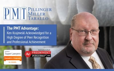 The PMT Advantage – Ken Krajewski Acknowledged for a High Degree of Peer Recognition and Professional Achievement