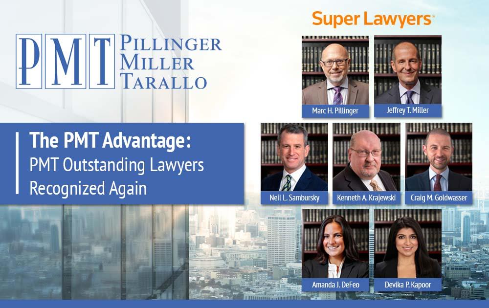 The PMT Advantage - PMT Outstanding Lawyers Recognized Again