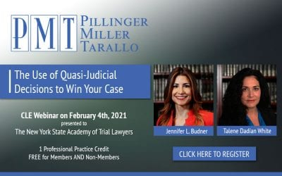 The Use of Quasi-Judicial Decisions to Win Your Case