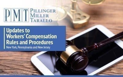 Updates to Workers' Compensation Rules and Procedures – New York, Pennsylvania and New Jersey