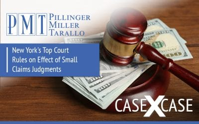 Case by Case: New York's Top Court Rules on Effect of Small Claims Judgments